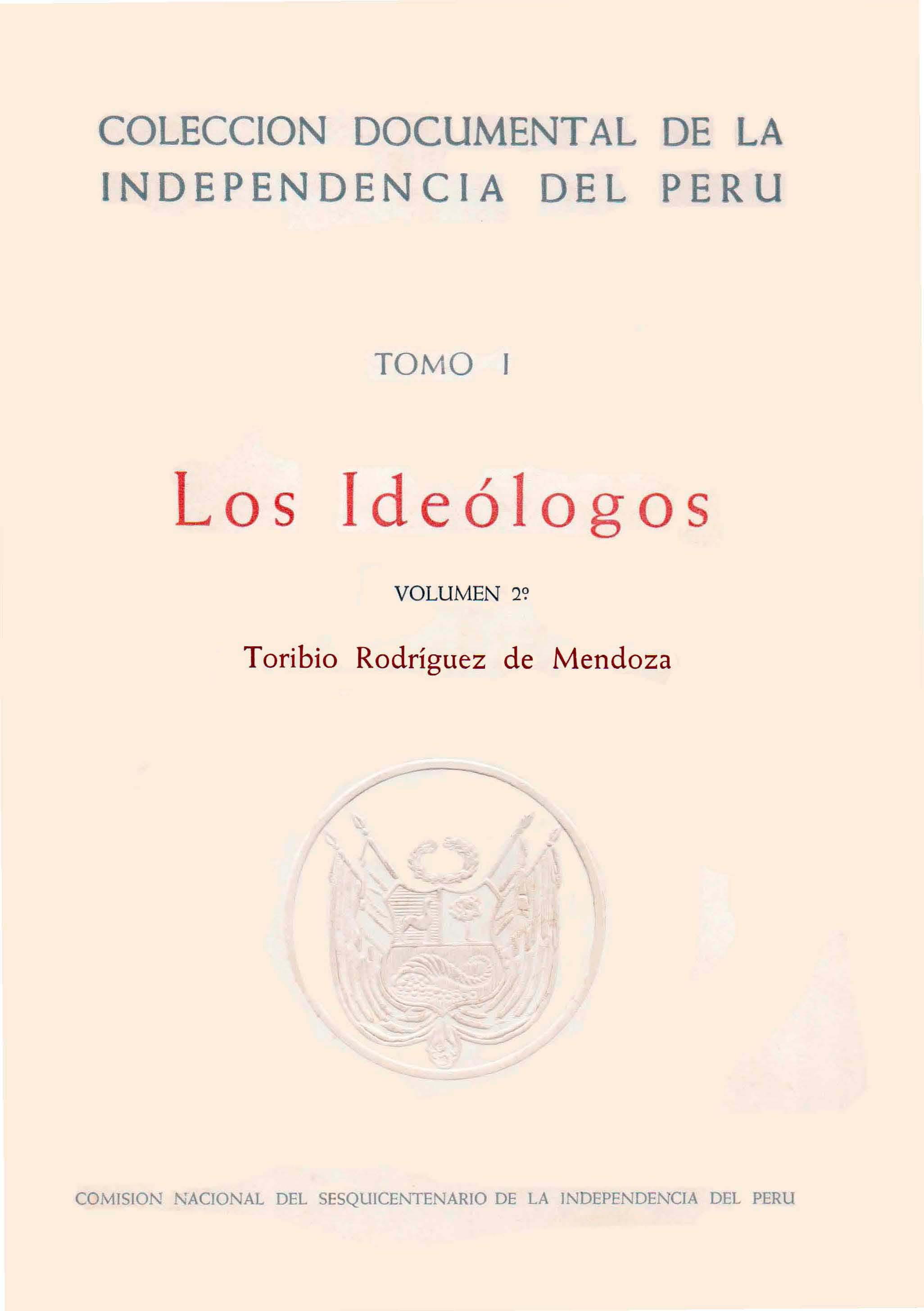 Los ideólogos: Toribi...